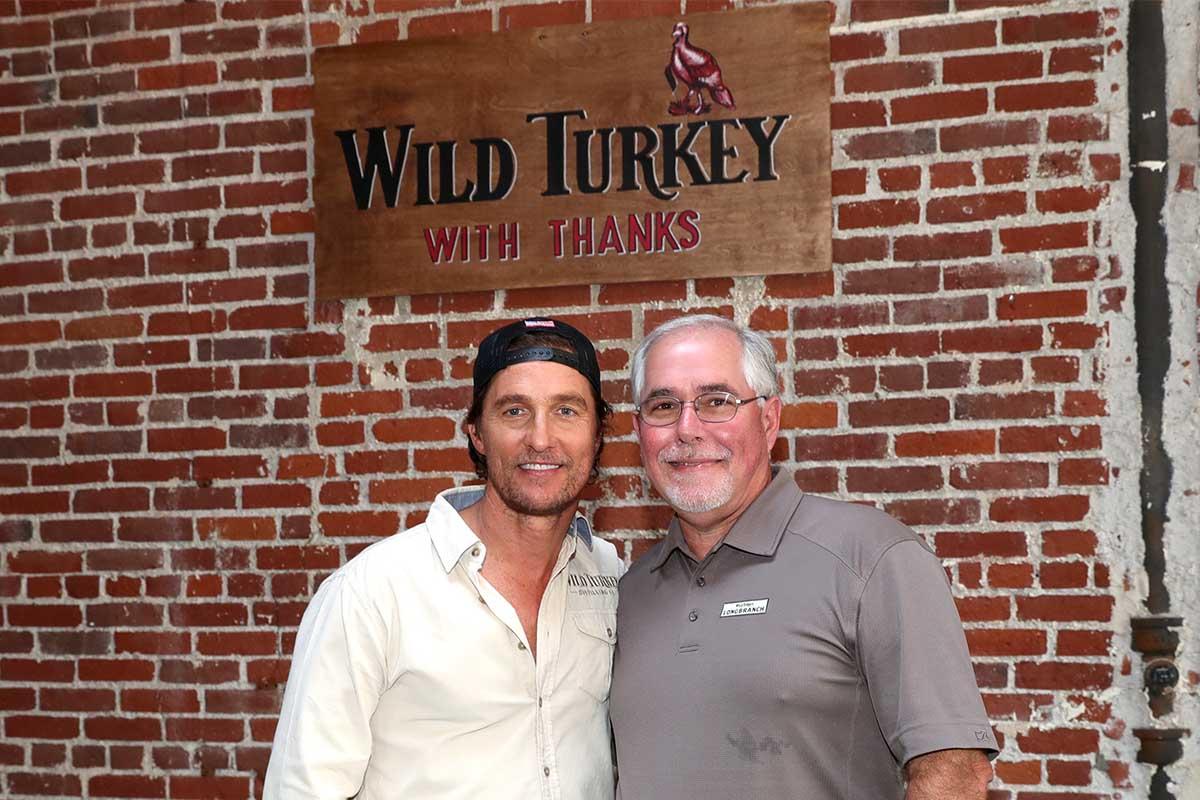 Matthew McConaughey and Eddie Russell