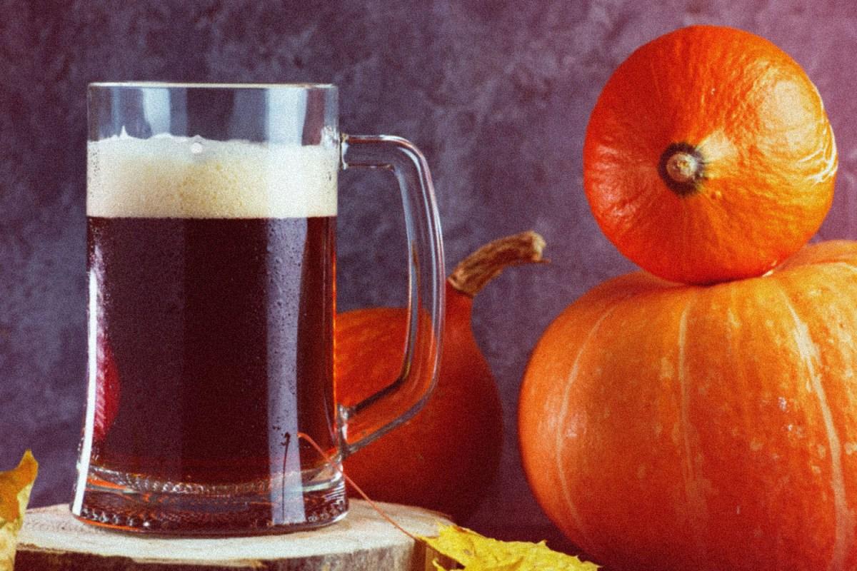 Pumpkin beer doesn't have to taste like liquid pumpkin pie.