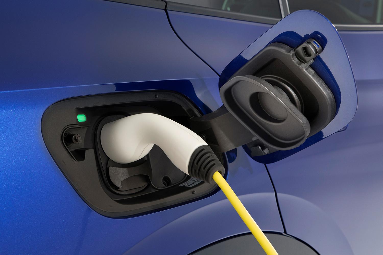 Volkswagen ID.4 SUV charging port