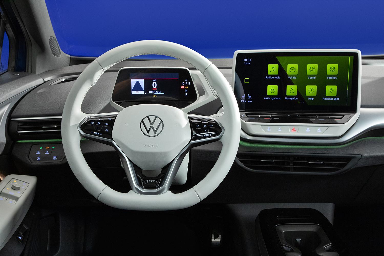 Volkswagen ID.4 dashboard