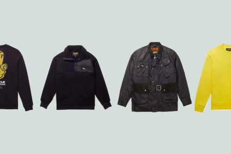 This Barbour x Saturdays Collab Brings Together Motorcycling and Surf Culture