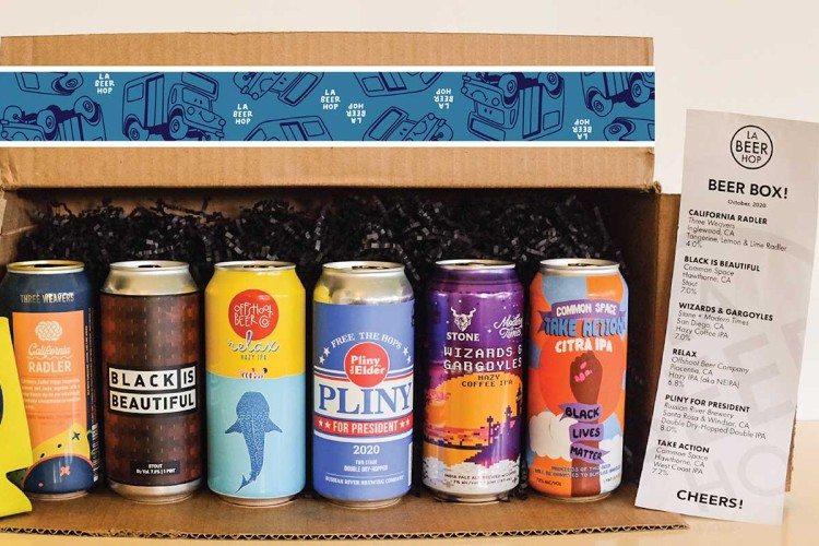 LA Beer Hop's Craft Subscription Box
