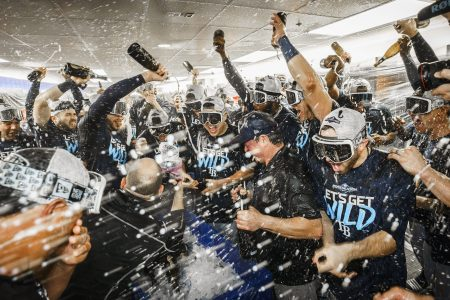 MLB Eliminating Postgame Champagne Celebrations for Playoff Winners