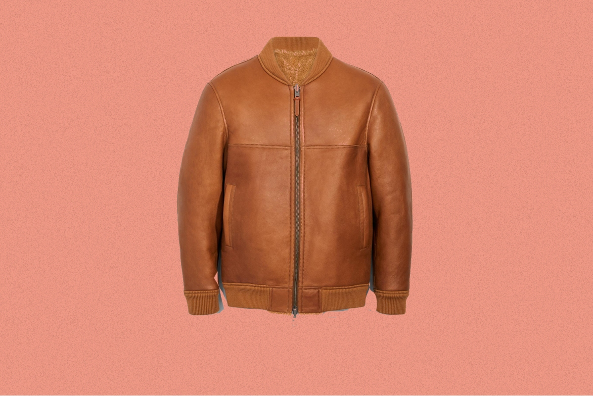 Deal: Let This Reversible Shearling Bomber Be the Star of Your  Entire Wardrobe