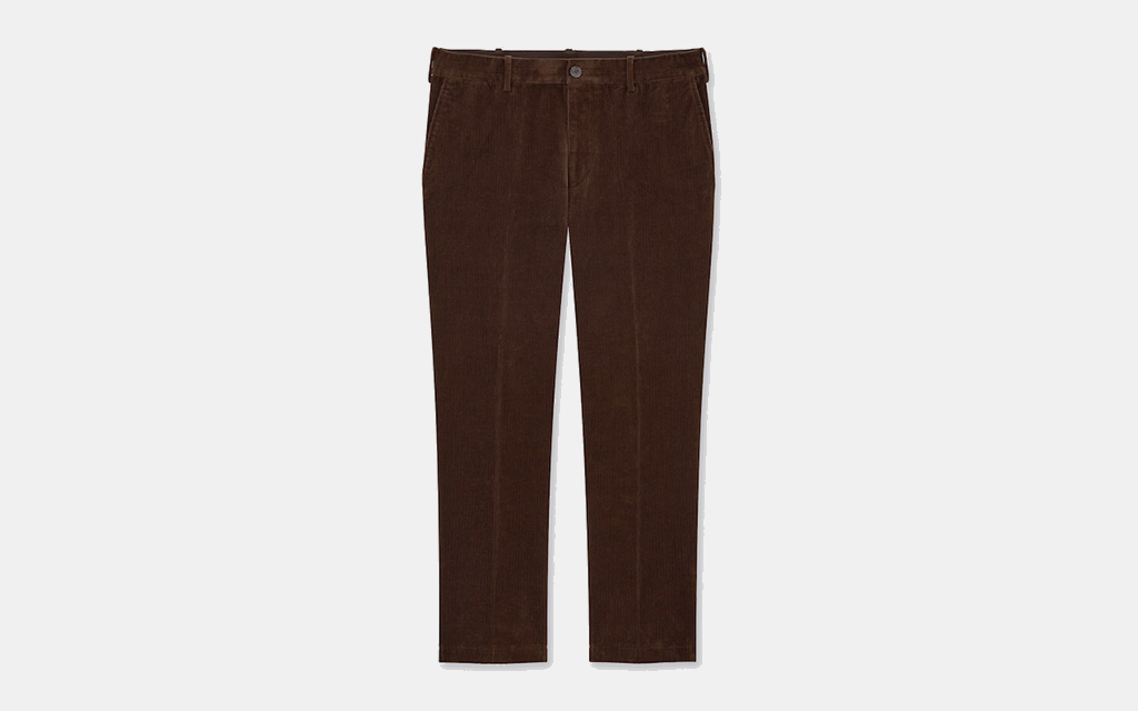 Uniqlo Smart 2-Way Stretch Corduroy Ankle-Length Pants