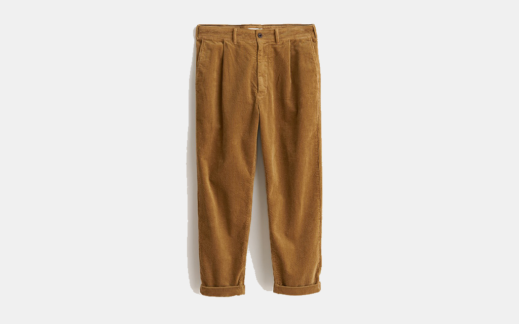 Alex Mill Rugged Cord Pleated Pant