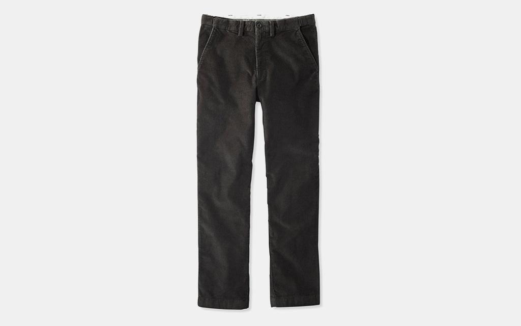 L.L.Bean Stretch Country Corduroy Pants
