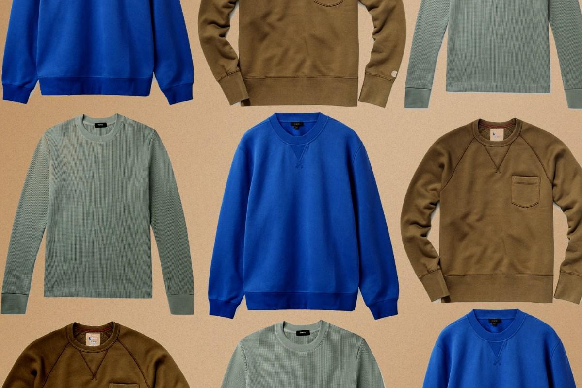The 15 Best Crewneck Sweatshirts for Men