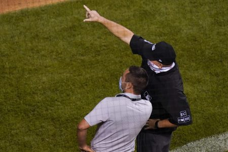 Drone in Outfield at Wrigley Delays Cubs-Indians Game
