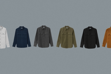 Everlane's New Heavyweight Overshirt Is the Perfect Cool-Weather Companion