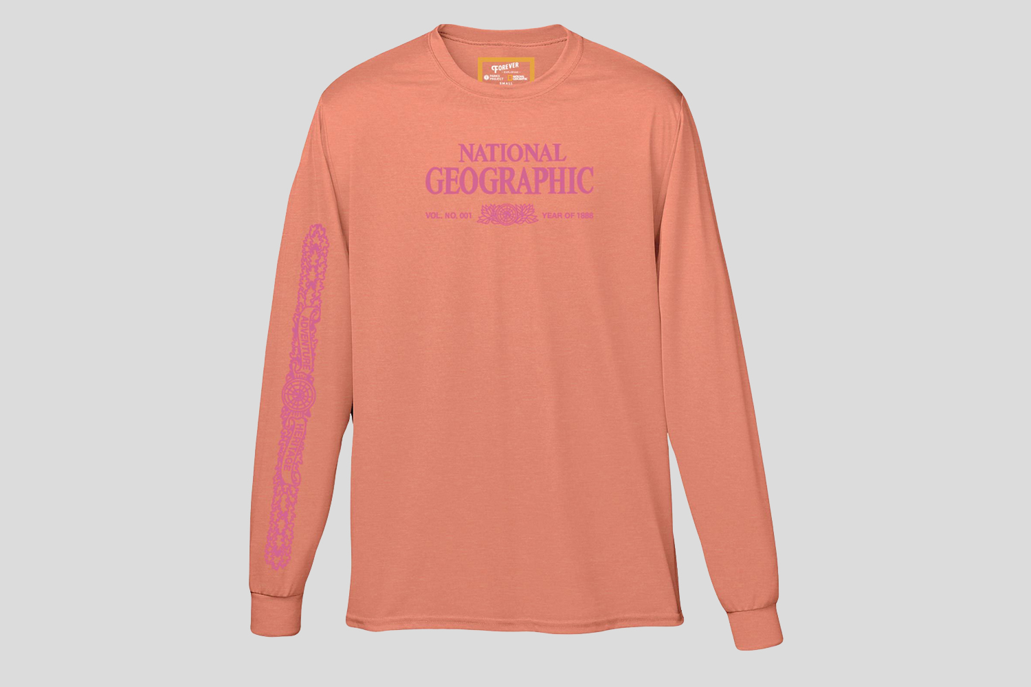 National Geographic X Parks Project Legacy Puffy Print Long Sleeve