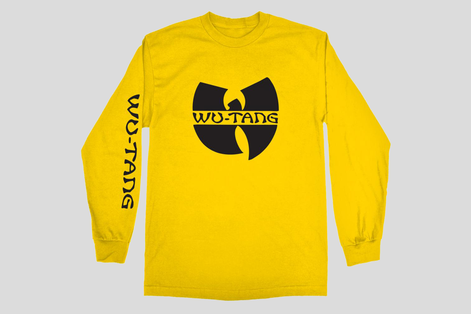 Okayplayer Wu-Tang Logo Long Sleeve T-Shirt