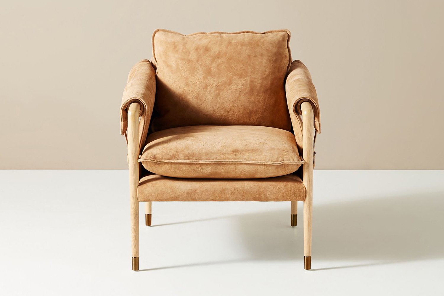 Havana Leather Chair in suede from Anthropologie
