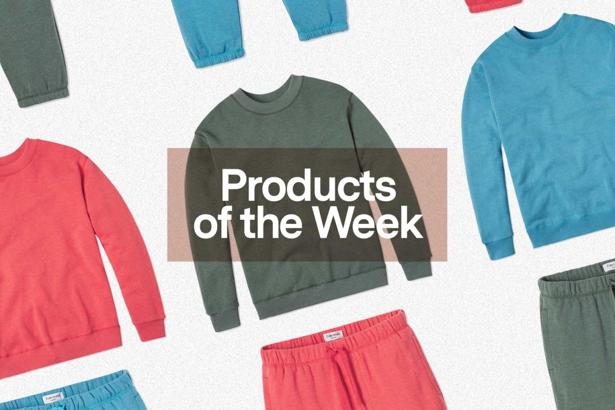 Products of the Week: Colorful Sweatsuits, Ice Pink YETIs and a New GoPro