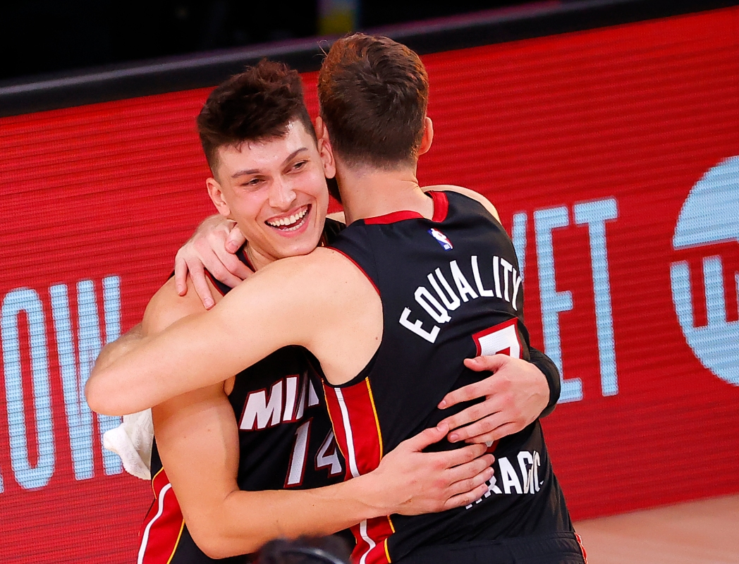 Rookie Tyler Herro Carries Heat to Win Over Celtics in East Finals