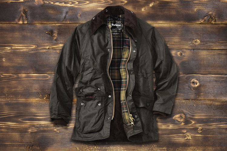 barbour bedale waxed canvas