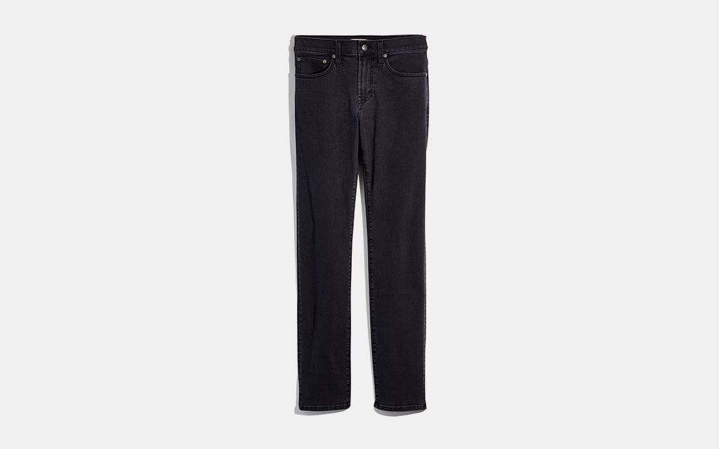 Madewell Slim Everyday Flex Jeans in Faded Midnight