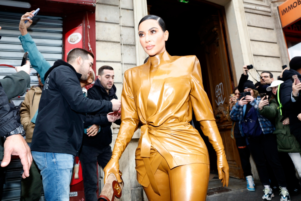 kim kardashian west in paris