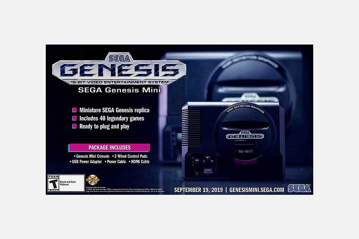 Sega Genesis Mini