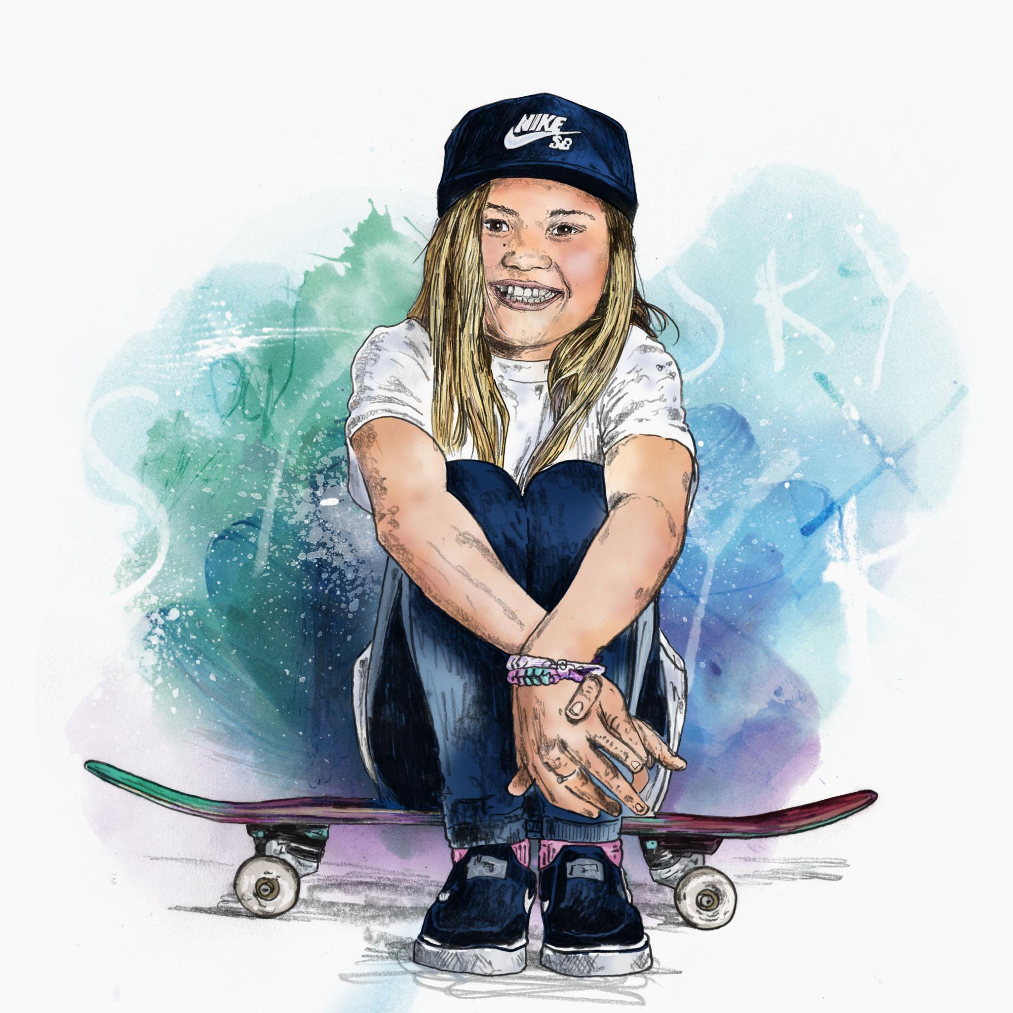 sky brown skateboard japan