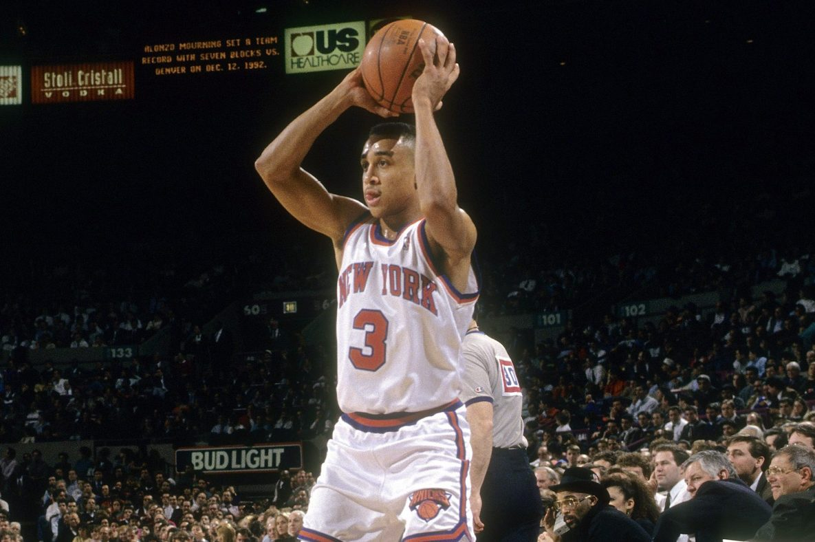 John Starks Is Enjoying the NBA Bubble, Just Like the Rest of Us