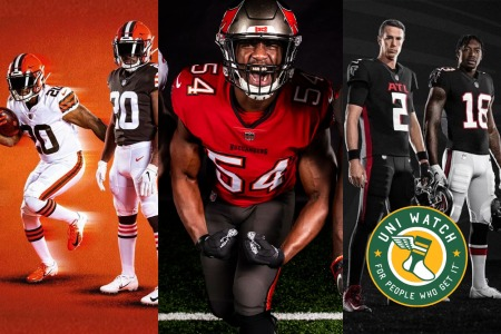 uni watch nfl preview 2020