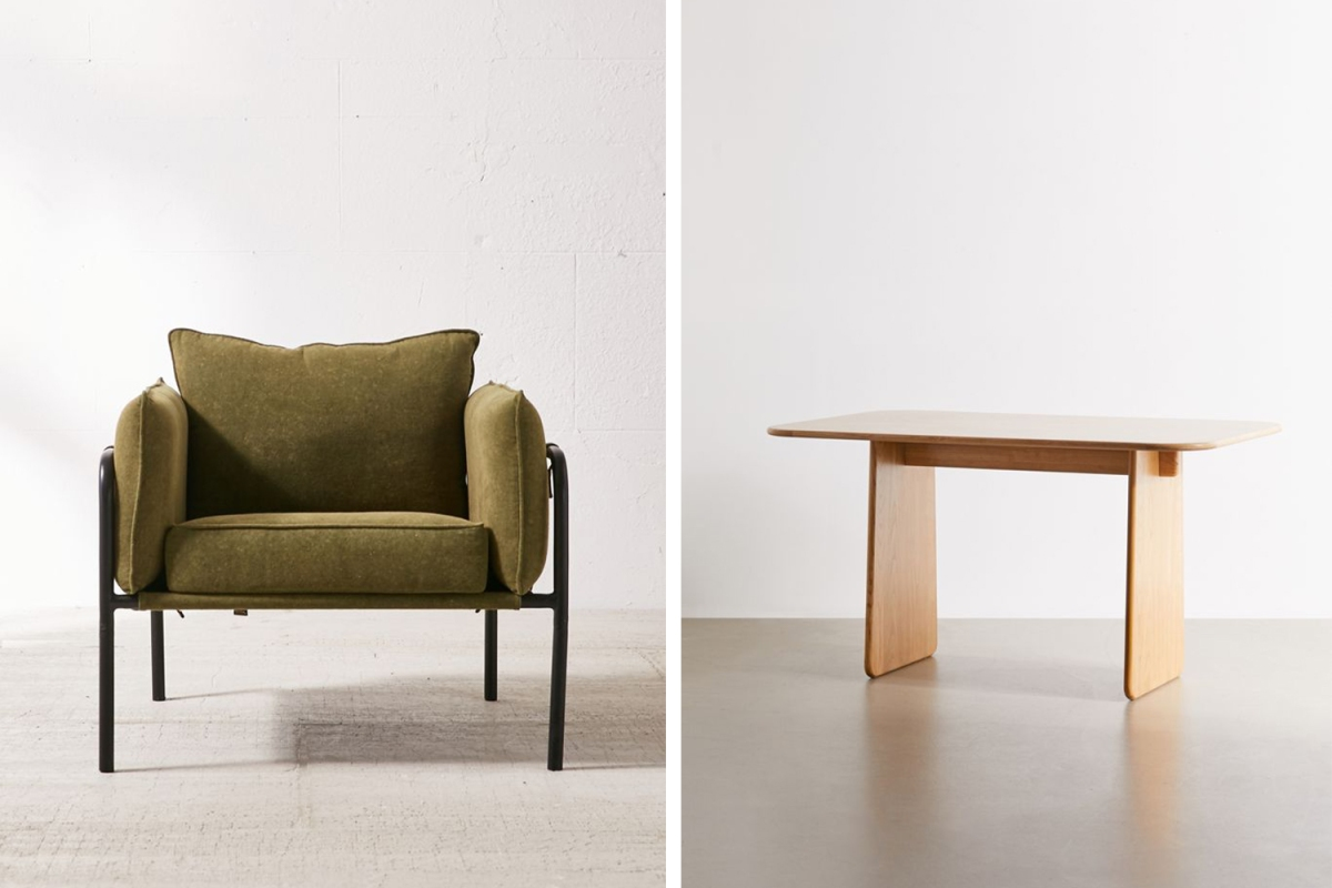 Take Up to 40% Off Sleek and Modern Furniture at Urban Outfitters