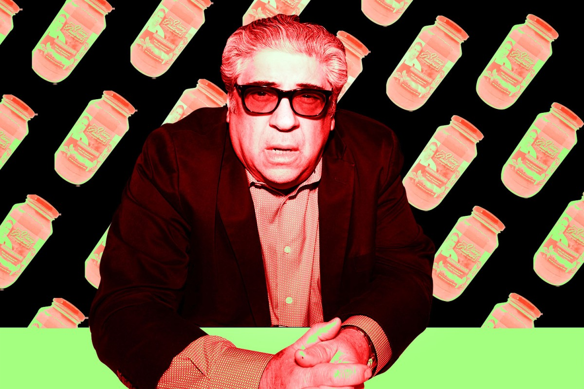 vincent pastore with his pasra sauce