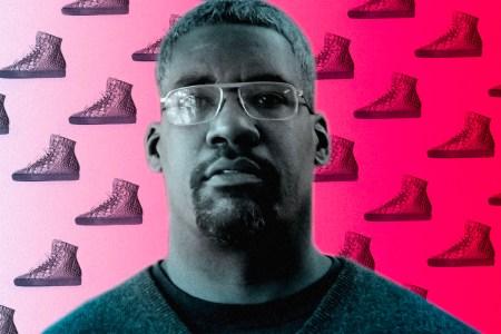 Chicago sneaker maker Yohance Joseph Lacour