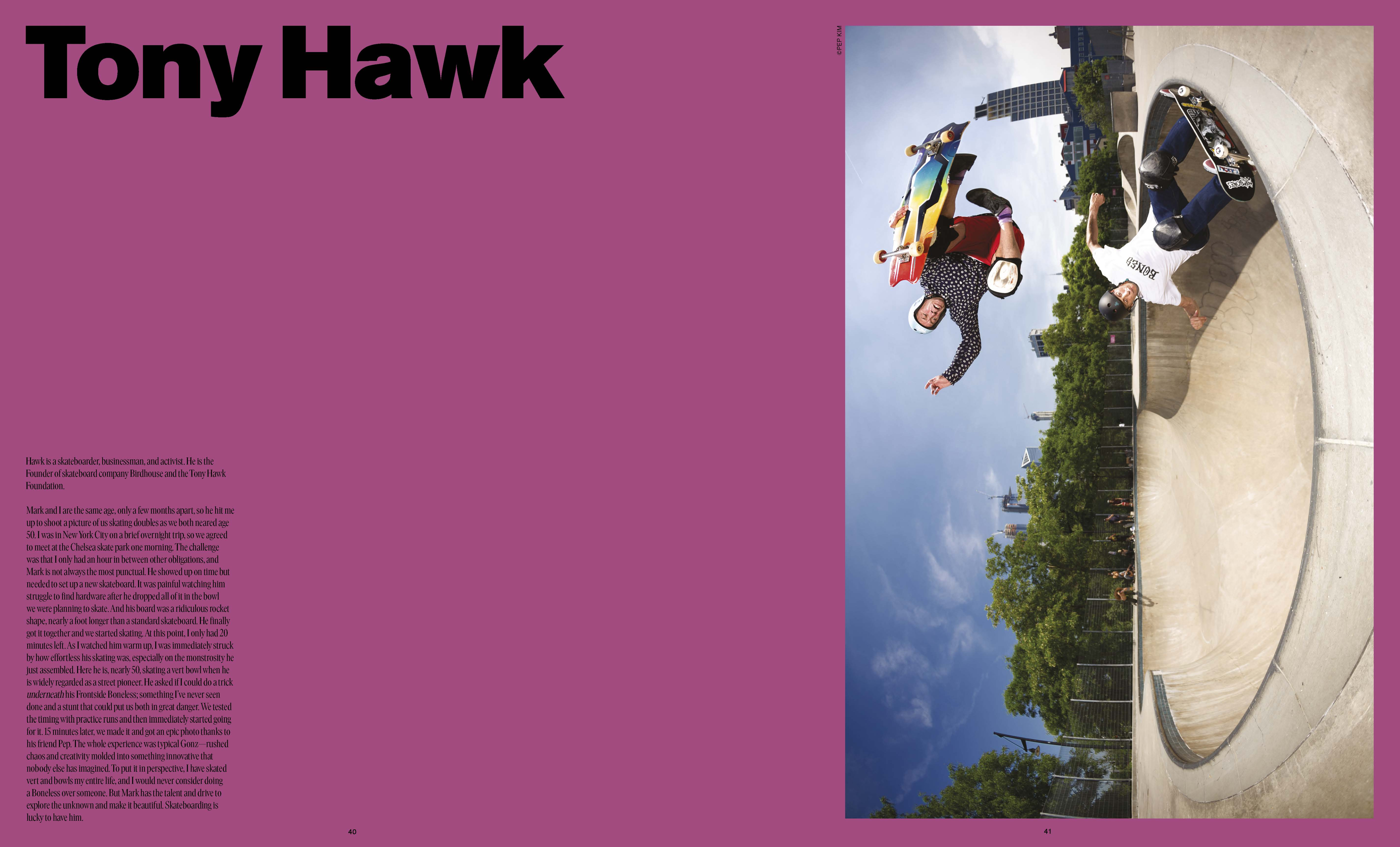 Tony Hawk and Mark Gonzales.Tony Hawk and Mark Gonzales.