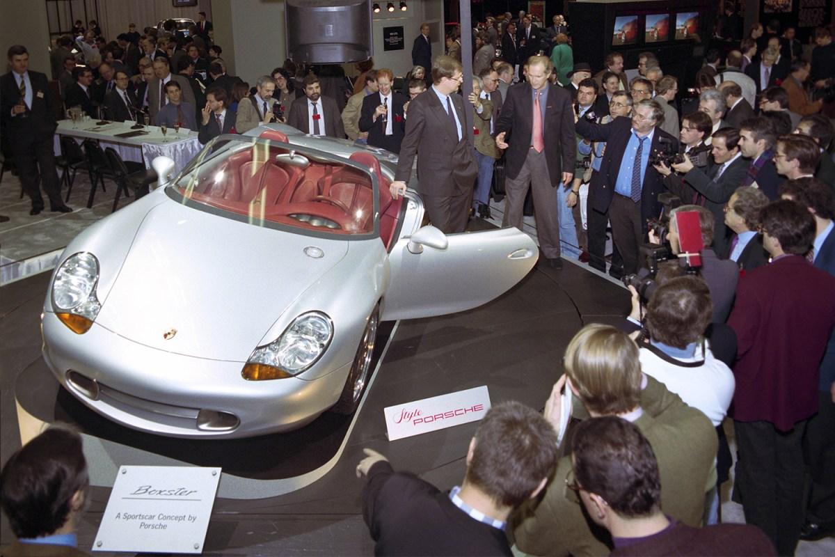 1993 Porsche Boxster Concept Car