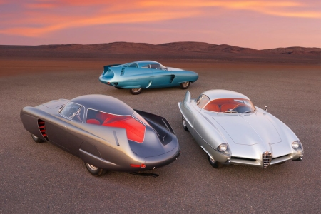 Alfa Romeo Berlina Aerodinamica Tecnica Concepts