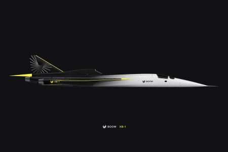 Boom Technology's new supersonic jet XB-1