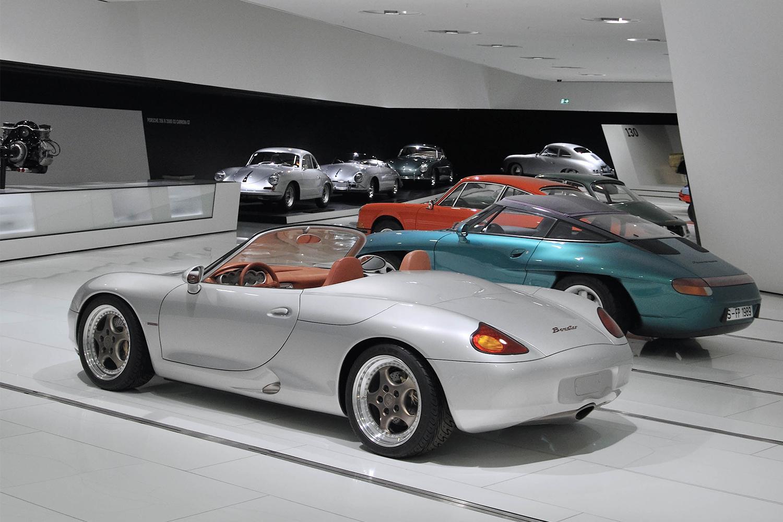 Porsche Museum Boxster Concept