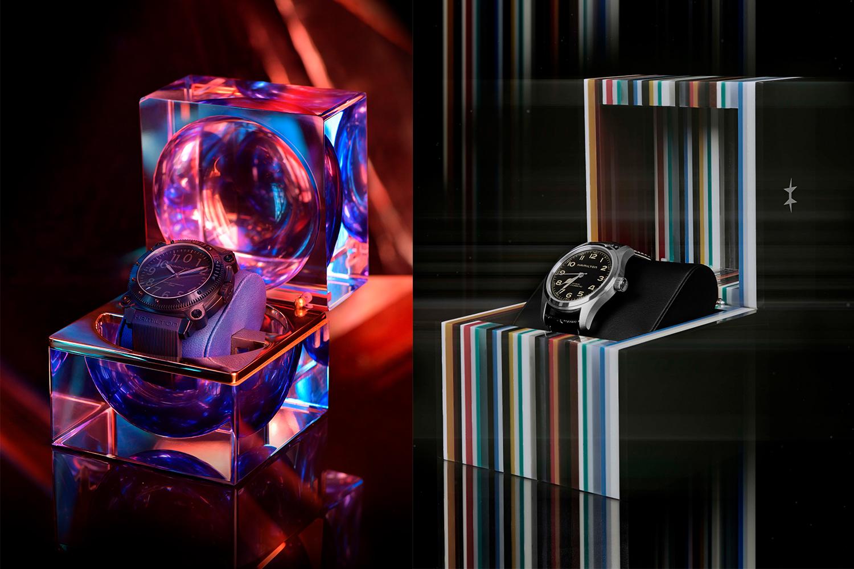 Tenet watch and Interstellar watch from Hamilton