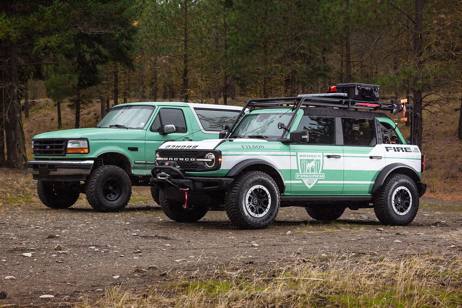 Filson Ford Bronco Wildland Fire Rig concept vehicle