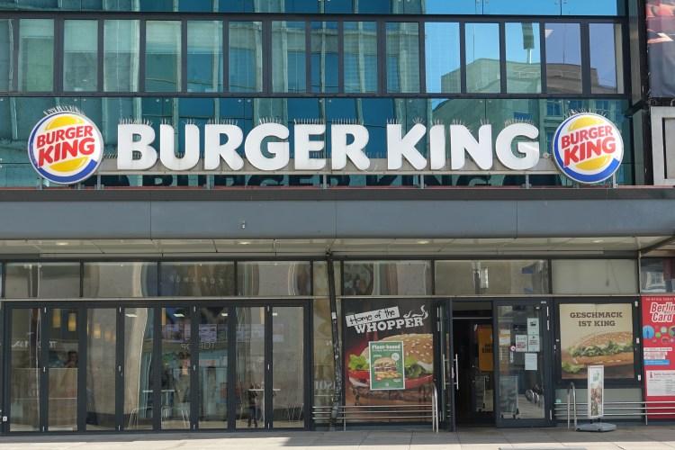 burger king fast food restaurant