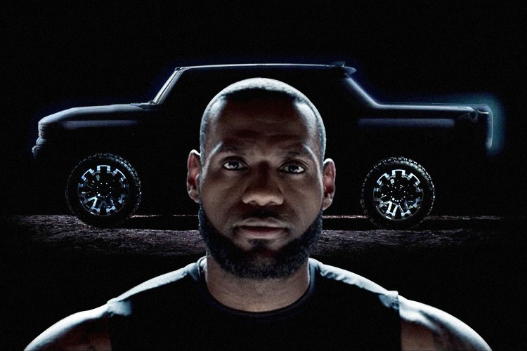 LeBron James Hummer EV