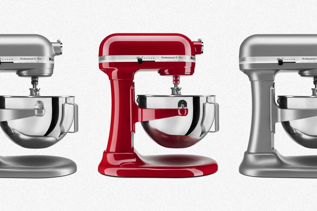 Take 50 Off Kitchenaid Professional 5 Plus Stand Mixers Insidehook