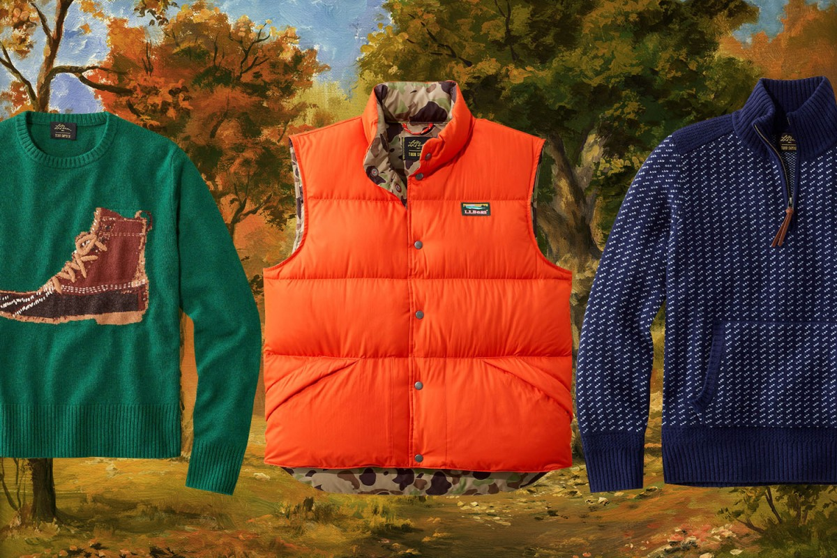 ll bean todd snyder collaboration apparel