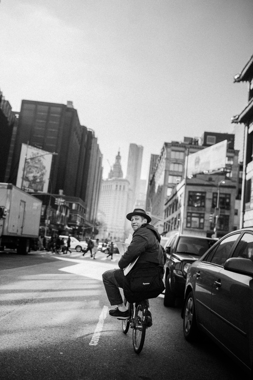 Mark Gonzales, Bike ride.