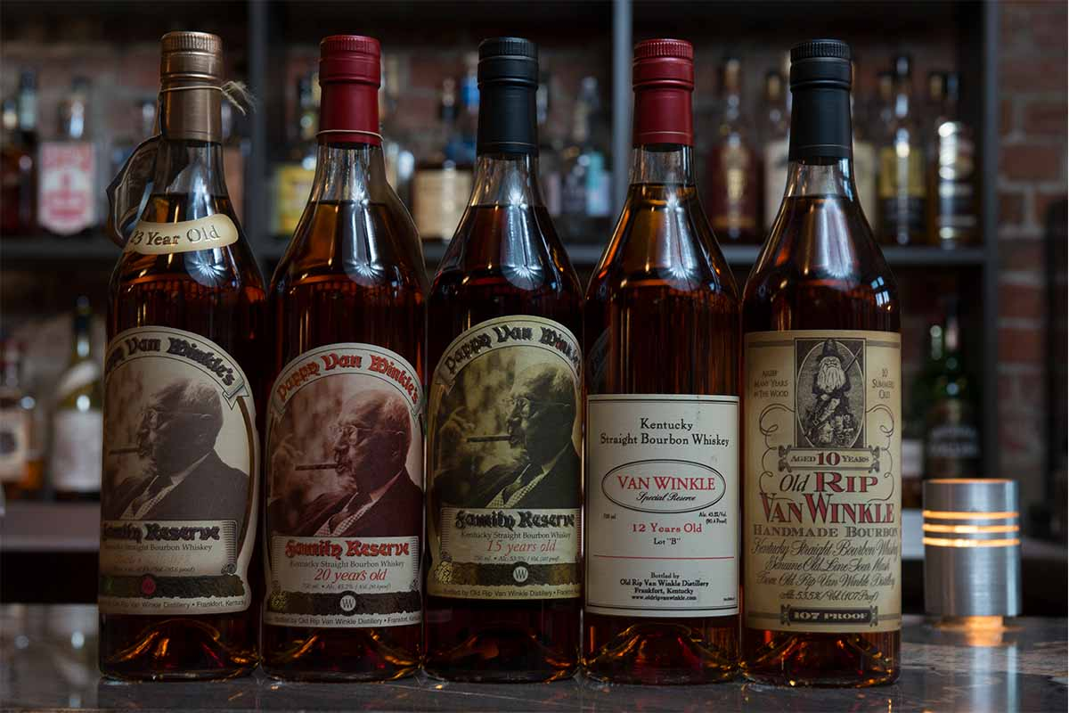 Van Winkle's bourbons announced for 2020