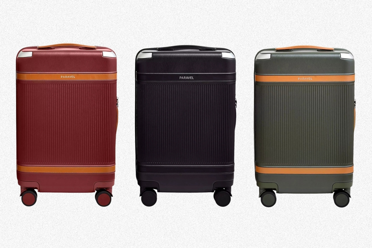 Paravel Aviator suitcase