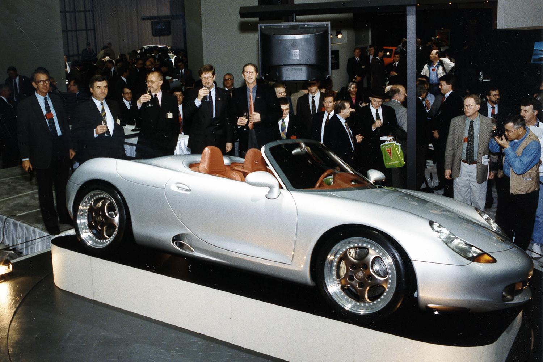 Porsche Boxster Concept reveal