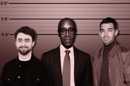 short kings Daniel Radcliffe, Don Cheadle and Joe Jonas