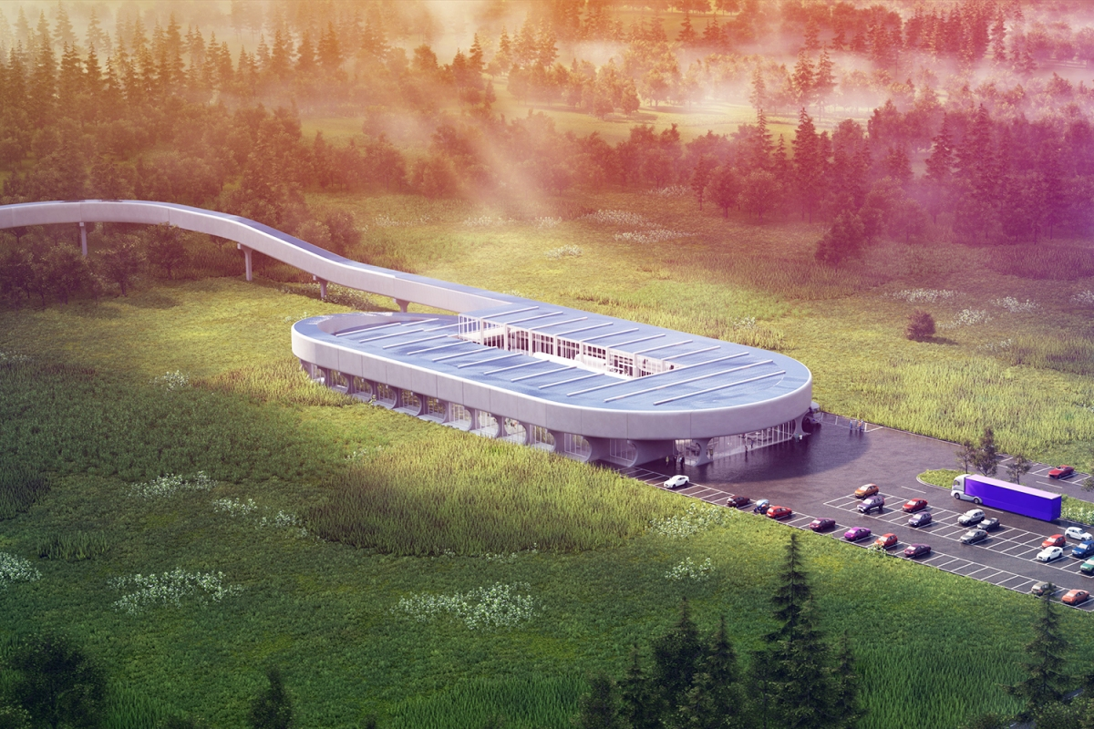 Virgin Hyperloop West Virginia test track