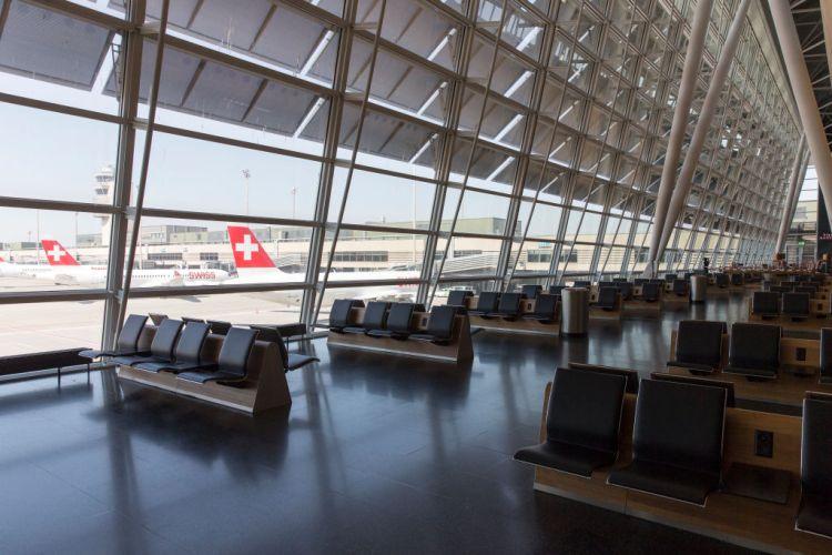 Zurich Airport During the Coronavirus Crisis