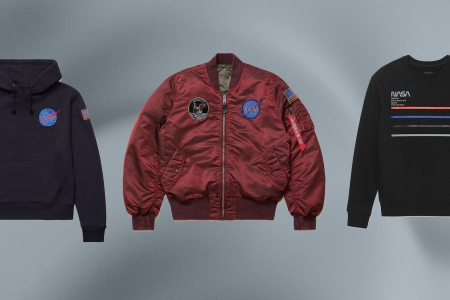 We Are Obsessed With This Alpha Industries x NASA Collaboration