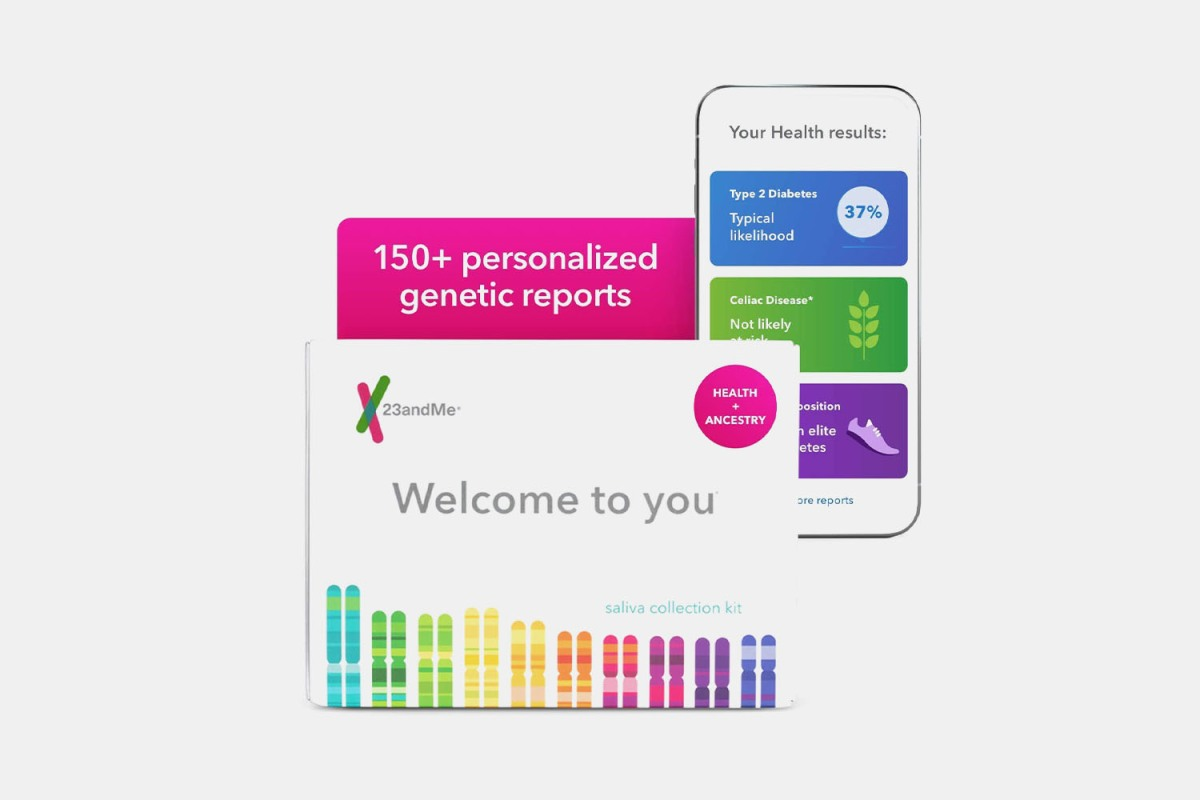 Deal: 23andMe's Health and Ancestry Kit Is 50% Off