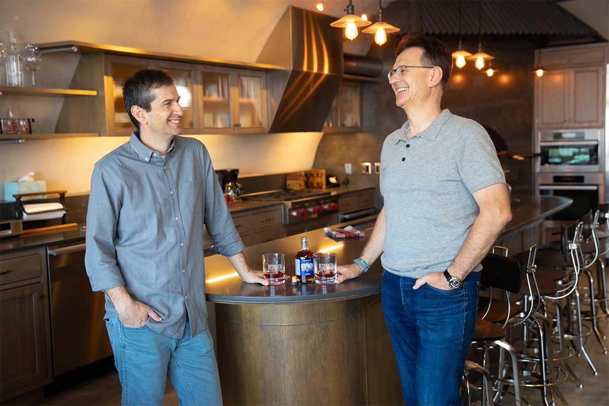 Bespoken Spirits founders Stu Aaron and Martin Janousek